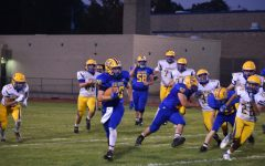 Zach Mallon is approaching 2,000 yards rushing for his career.