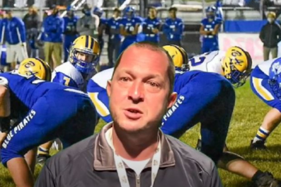 Coach Lovrich and the Blue Devils are headed to West Branch hoping to remain undefeated.