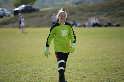 Junior Jaylee Shuke earned a shutout in the soccer team