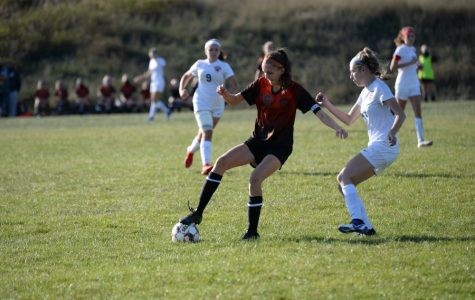 Sophia Nelson and the girls soccer team took Penns Valley to the limit in a loss on Saturday.