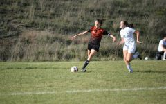 Junior Sophia Nelson is a leader on the soccer team, which is maturing with each successive game.