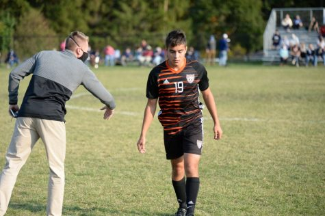 Andrew Tornatore helped the soccer team to a split of its first two games this week.