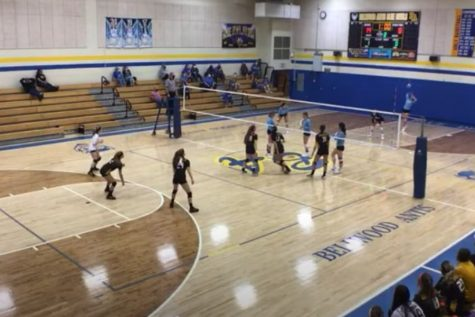 The volleyball team won two of three games this week.