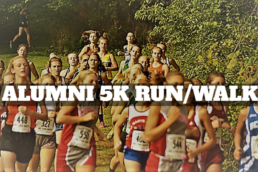 The third Alumni 5K goes down on October 10.