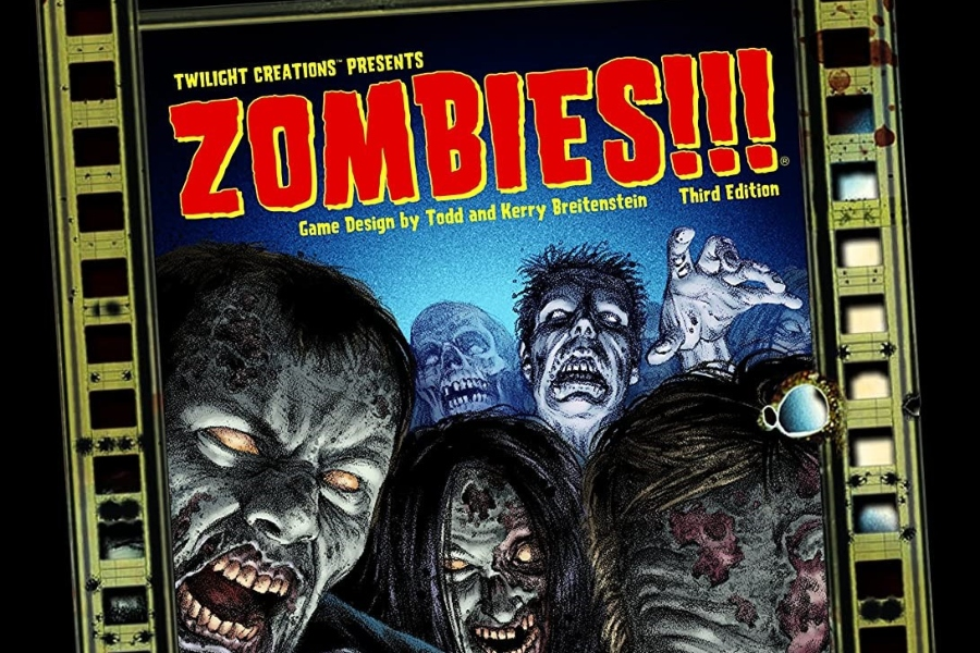 Zombies!!! is a sprawling board game that can quite hilarious.