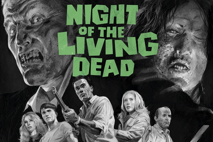 Night+of+the+Living+Dead+is+a+classic+horror+movie+that+brought+the+zombie+genre+to+the+US.