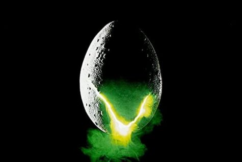 The movie Alien crosses genres between science fiction and  horror.