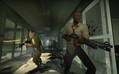 Left 4 Dead may not be a mental challenge, but it's a a pretty fun zombie game.