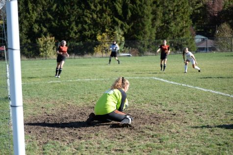 Jaylee Shuke got the shutout against Huntingdon, giving the soccer team just enough room to snatch a 1-0 victory in overtime.