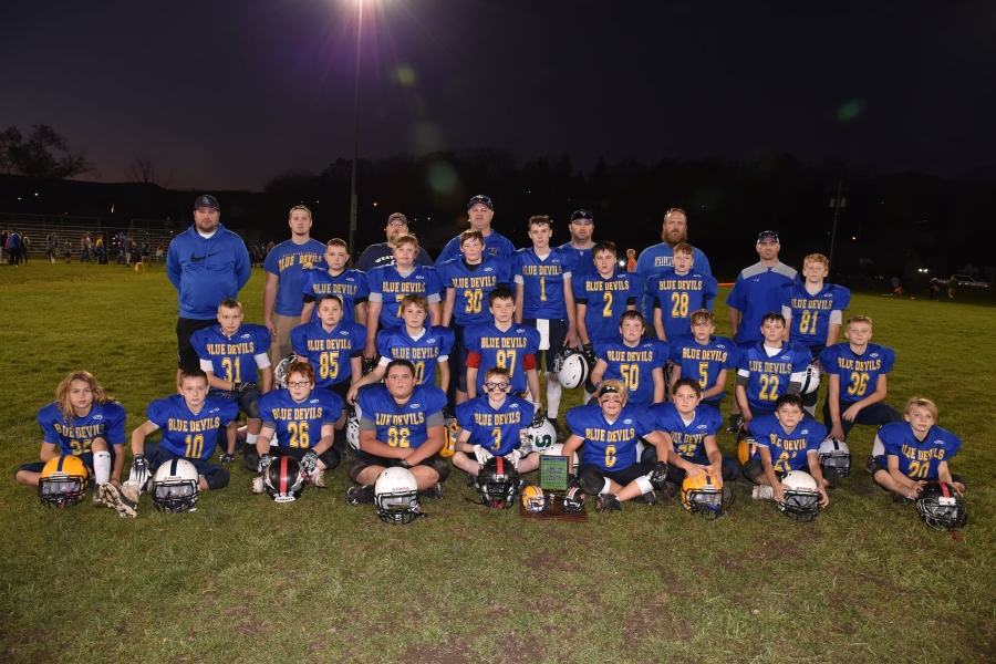Bellwood-Antis' youth all-stars took home the mini-Backyard Brawl trophy for the second straight season.