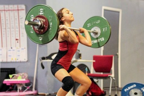 Gracie Rice is headed to nationals in power lifting.
