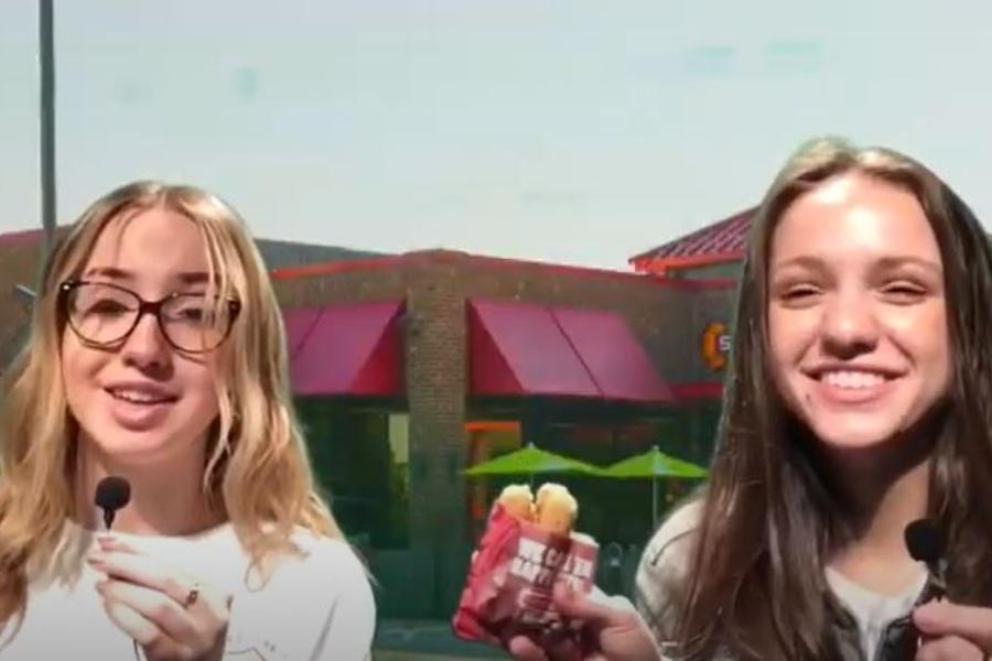 Caroline+and+Haley+debate+local+snack+cuisine+on+this+week%27s+episode.