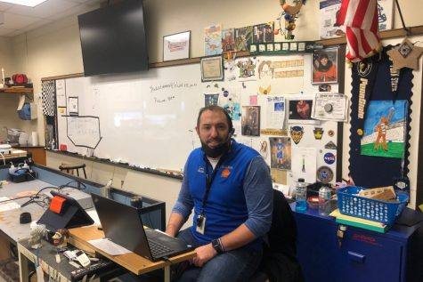 Mr. Martin is a popular teacher and coach at the Bellwood-Antis Middle School.