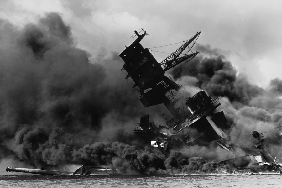 The+attack+on+Pearl+Harbor+spurred+the+U.S.%27s+involvement+in+WWII.