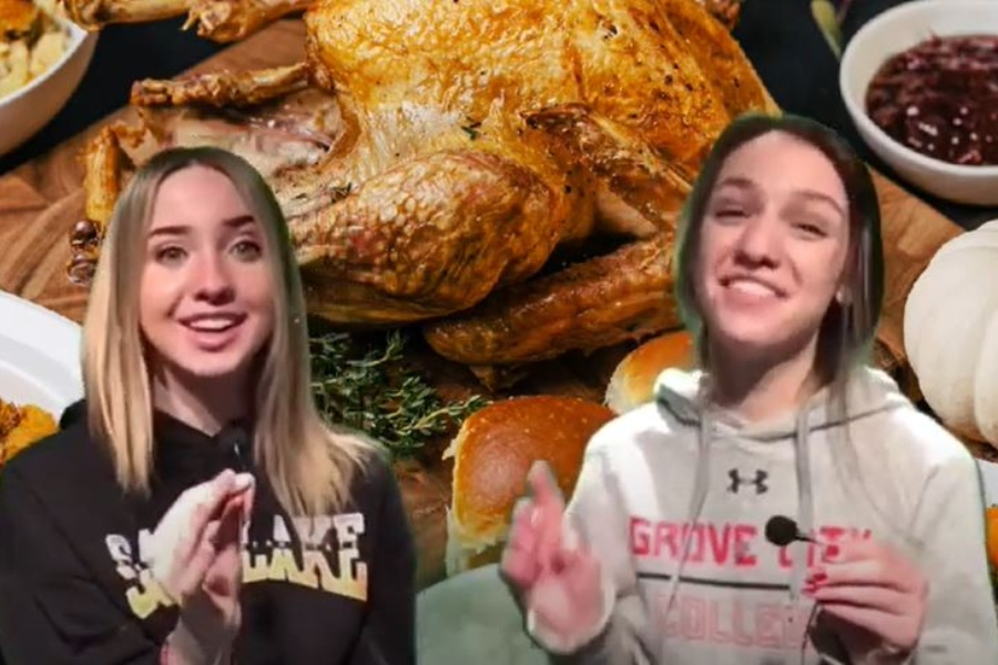 Haley and Caroline are back talking about Thanksgiving sides.
