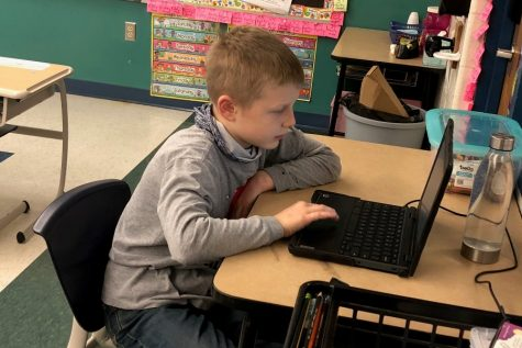 Elementary students and teachers have pushed ahead and made progress even though learning at BA has been virtual since Thanksgiving.
