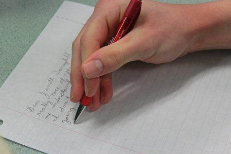 Celebrate National Handwriting Day by composing a letter.