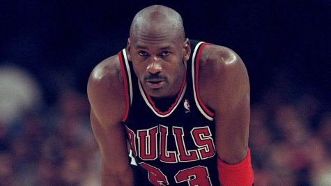 Michael Jordan, a basketball icon, comes to Bellwood to teach the ways of the hardwood.