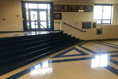The halls of BAHS will have students in them once again next week as all schools in the district return to in-person learning in some form.