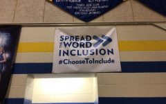 This banner hangs in the Bellwood-Antis high school gymnasium to serve as a reminder that everyone is included, no matter their talents.