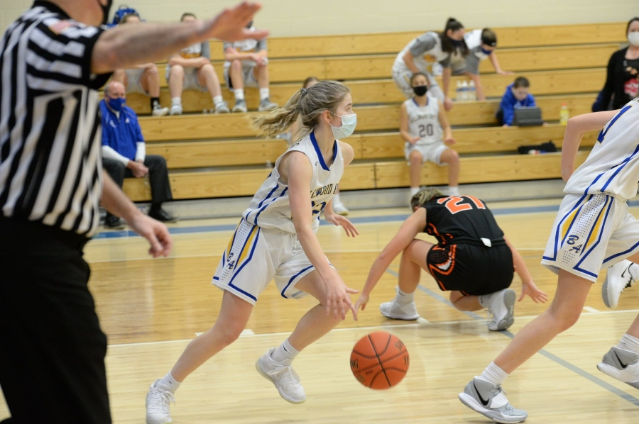 Chloe Hammond hit the biggest shot of her young career to beat Williamsburg.