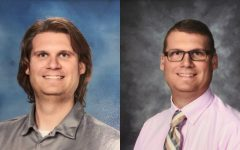 Mr. Elder's evolving hair styles set him apart from most B-A teachers.