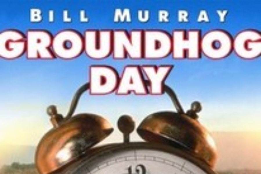 Ground Hog Day is a classic film from the 90s.