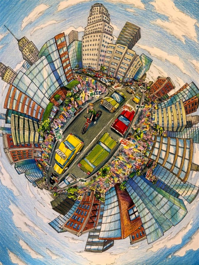 Joe Beam is having great success in the art world, and has recently had a solo show titled, WARPED.