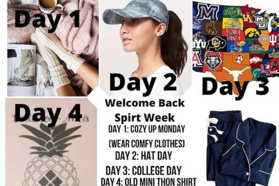 B-A's Renaissance Club is offering a back-to-full-time spirit week next week.