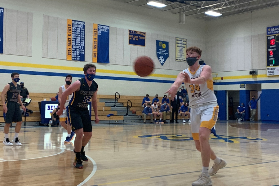 Zach Miller scored 12 in B-A's win over Moshannon Valley.
