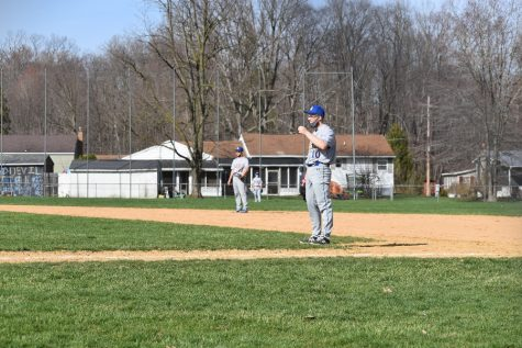 Baseball team edged by Juniata Valley