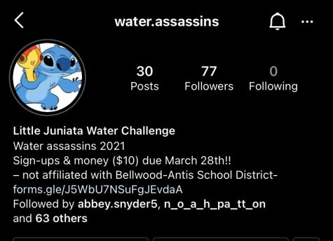 The Instagram account students use to follow the game.