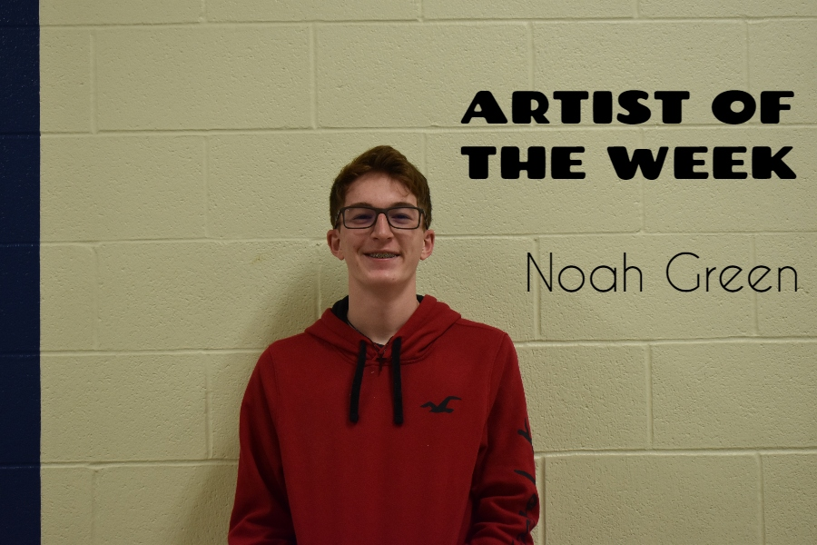 Noah+Green+is+balancing+athletics+with+his+love+for+instrumental+music.