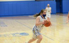 Alyson Partner scored 15 to help keep the Lady Devils close against Southern Huntingdon.