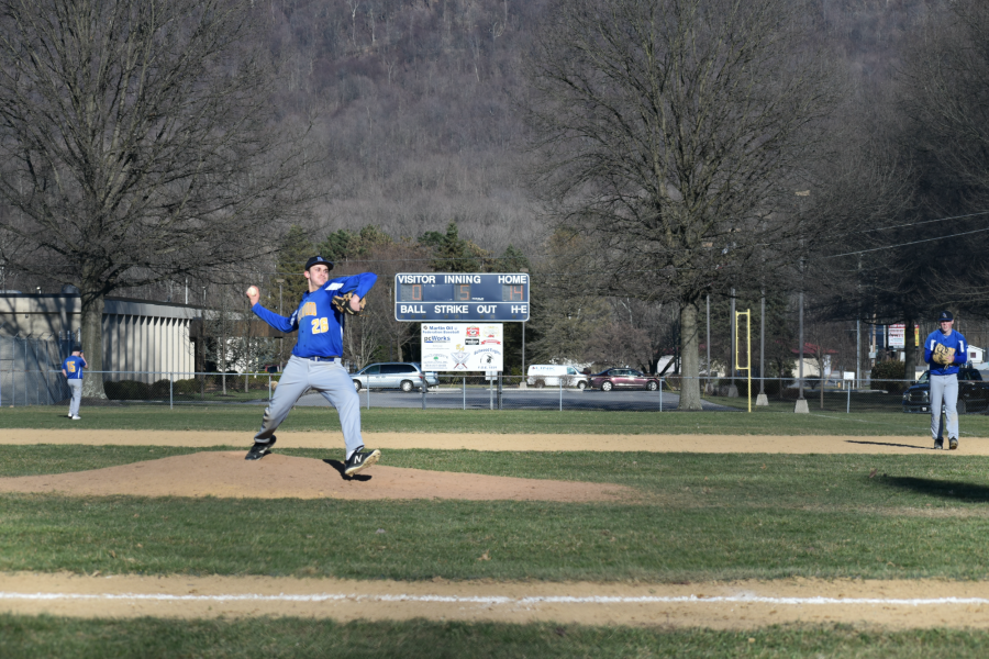 Jack Luensmann is one of the returning pitchers B-A will count on for innings and wins.