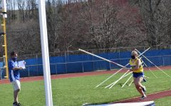 Sophomore Lydia Worthing won the pole vault championship at the United Invitational Saturday.
