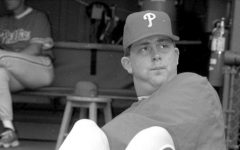 1989 BA grad Ron Blazier spent two seasons pitching for the Philadelphia Phillies.