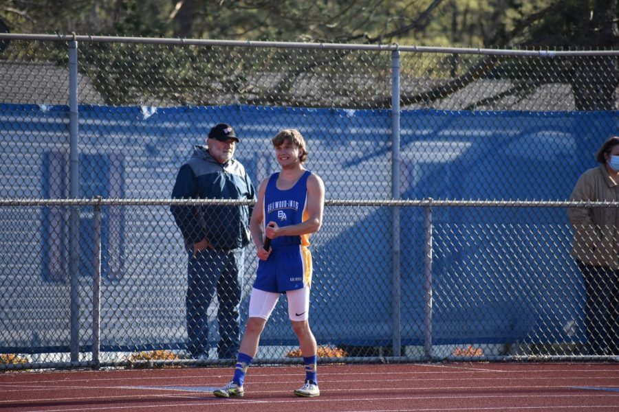 Kenny Robison won the 400-meter run on Tuesday to help lead B-A's boys to a pair of wins on the track.