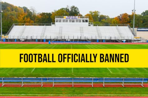 B-A board bans football