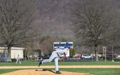 Jack Luensmann won in a pitching duel against Claysburg last Thursday, throwing 6 1/3 innings for the ICC win.