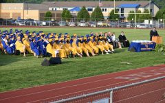 Outdoor commencement should be returning the B-A this year, as  long as the weather holds up.