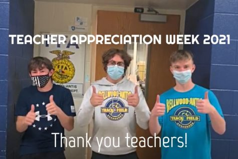 "BAHS students say ""Thank you teachers!"""