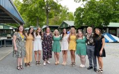 Bellwood-Antis senior award winners pose for a picture at DelGrossos Amusement Park following the senior awards banquet. More than &75,000 in scholarships was given away to members of the class of 2021.
