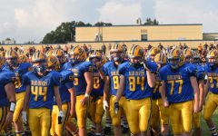 The B-A football team won their third consecutive backyard brawl trophy, the first time since the late 80's.