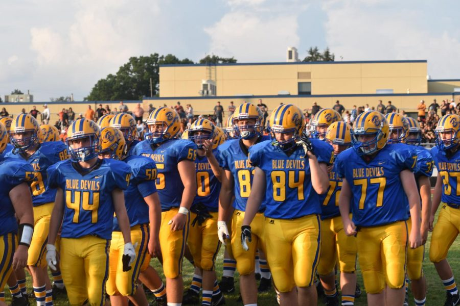 The B-A football team won their third consecutive backyard brawl trophy, the first time since the late 80s.