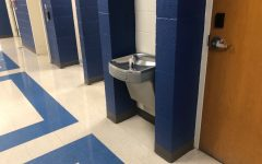 Fountains like this one in the high school will be a distant memory after bottle filler stations are installed this year.