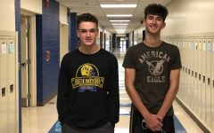 Brandon Cherry and Caedon Poe recently earned recognition from the National Merit Scholarship organization.