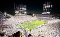 Penn State takes the field to play Auburn Saturday Night