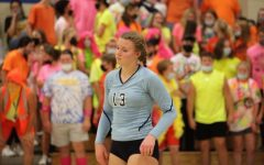 Lydia Worthing is a key contributor to this years Volleyball team