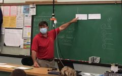 Mr. Mackereth teaches one of his electives.